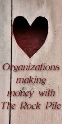 Partner Organizations with Fundraising that Rocks www.therockpile.com